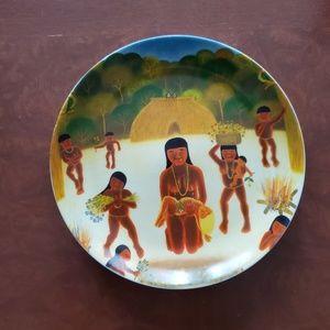 PORCELANA SCHMIDT - Brazilian Decor Plate